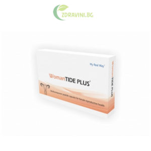 "Пептиди MyRealWay ""WomanTIDE PLUS"" 15 капсули"
