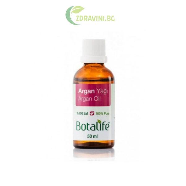 Натурално арганово масло - 100 % чисто, студено пресовано, 50 мл