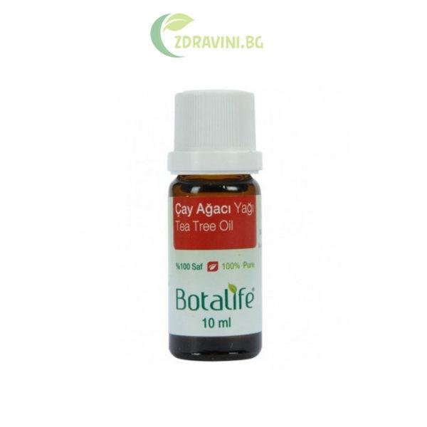 Натурално масло от чаено дърво - 100 % чисто, 10 мл