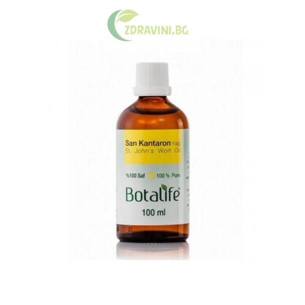 Натурално масло от жълт кантарион на Св. Йоан - 100 % чисто, 100 мл