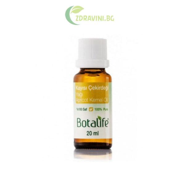 Натурално масло от ядки на кайсия - 100 % чисто, студено пресовано, 20 мл